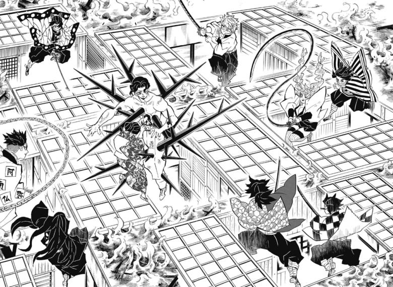 「鬼滅の刃」16巻139話 無限城へ突入