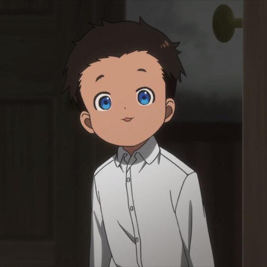 アニメ「約束のネバーランド」7話  フィル かわいい顔